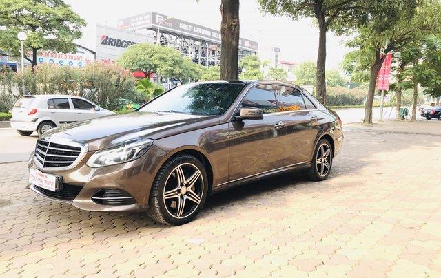 Cần bán xe Mercedes E400 đời 2014, màu nâu, bản cao cấp nhất, sang trọng nhất dòng E Class3