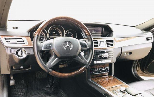 Cần bán xe Mercedes E400 đời 2014, màu nâu, bản cao cấp nhất, sang trọng nhất dòng E Class14