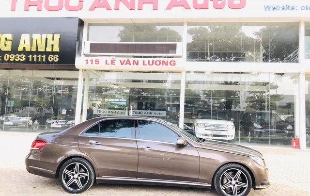 Cần bán xe Mercedes E400 đời 2014, màu nâu, bản cao cấp nhất, sang trọng nhất dòng E Class1