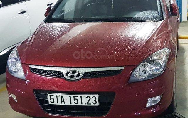 Bán Hyundai i30 CW 1.6AT năm sản xuất 2011, màu đỏ, nhập khẩu, 410tr0