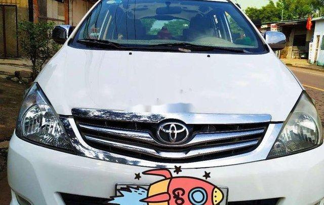 Cần bán gấp Toyota Innova sản xuất 2008, màu trắng xe gia đình, giá chỉ 300 triệu1