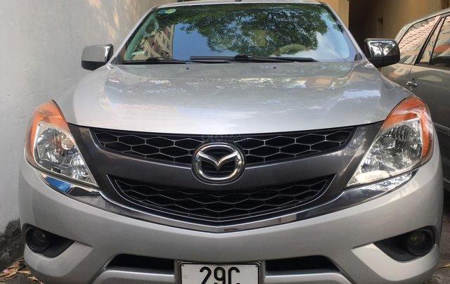 Bán Mazda BT-50 - 2.2 4x4 - Đời 2014 chính chủ, bạc, nhập khẩu nguyên chiếc, 428 triệu0
