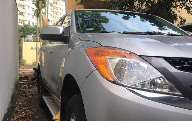 Bán Mazda BT-50 - 2.2 4x4 - Đời 2014 chính chủ, bạc, nhập khẩu nguyên chiếc, 428 triệu5