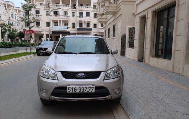 Bán ô tô Ford Escape XLS 2.3L đời 2010 màu ghi vàng giá thương lượng, hotline 09012678550