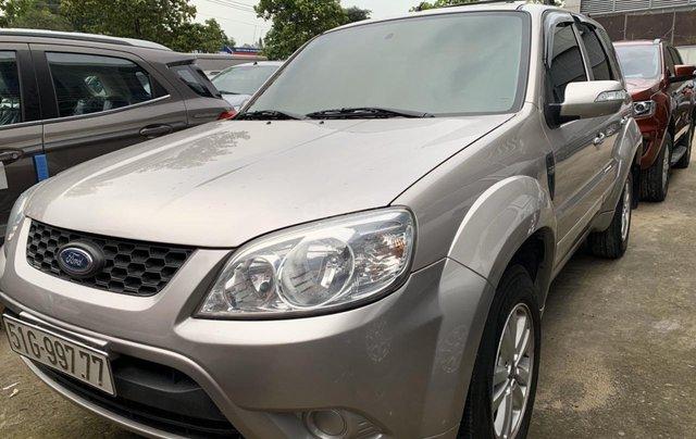 Bán ô tô Ford Escape XLS 2.3L đời 2010 màu ghi vàng giá thương lượng, hotline 09012678553