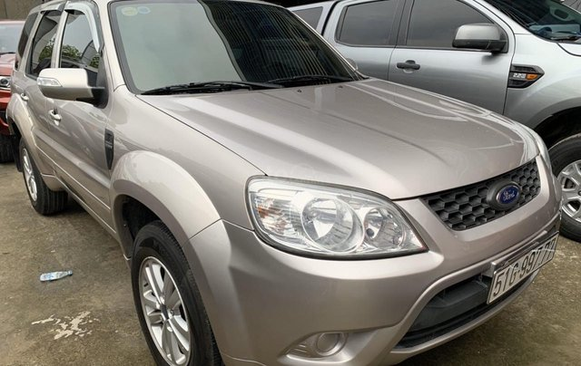 Bán ô tô Ford Escape XLS 2.3L đời 2010 màu ghi vàng giá thương lượng, hotline 090126785510