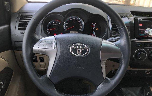Bán nhanh chiếc Toyota Fortuner 2.5G, đời 2015, giá rẻ2