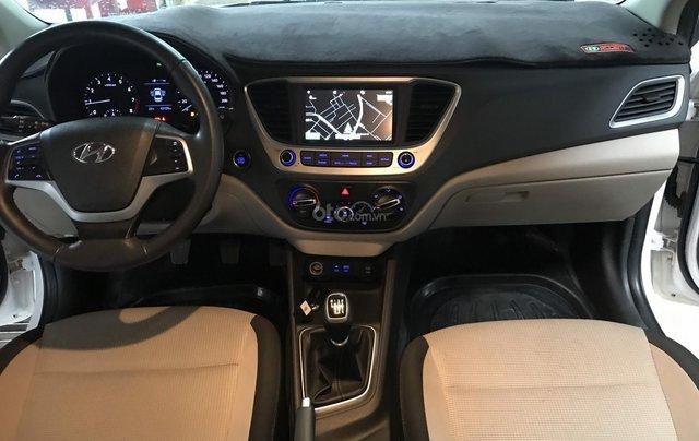 Bán ô tô Hyundai Accent 1.4MT 2018 màu trắng, xe gia đình7