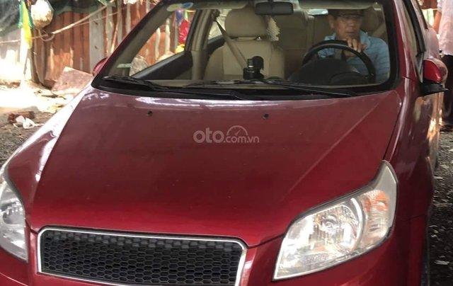 Bán xe Chevrolet Aveo 1.4 LT đời 2017, màu đỏ, giá chỉ 315 triệu0