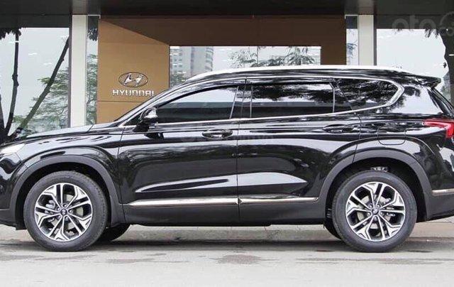 Bán Hyundai Santa Fe 2.4L Premium năm sản xuất 2019, màu đen