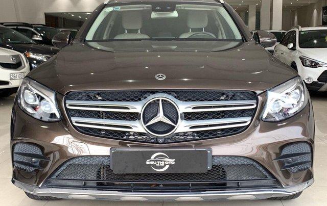 Bán xe Mercedes-Benz GLC-Class đời 2017, màu nâu, giá tốt6