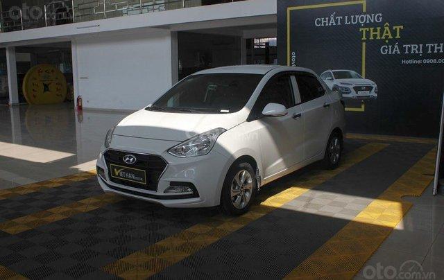 Cần bán Hyundai i10 1.2MT 2019 màu trắng mới đi 8.000 km, giá 388 triệu1