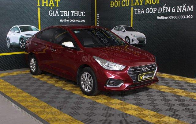 Hyundai Accent 1.4AT 2018, xe màu đỏ siêu đẹp, có kiểm định chất lượng1