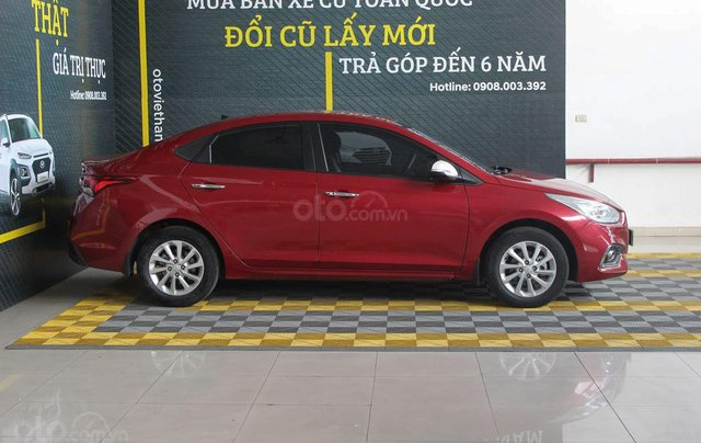Hyundai Accent 1.4AT 2018, xe màu đỏ siêu đẹp, có kiểm định chất lượng4