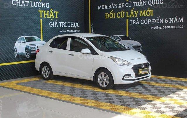 Cần bán Hyundai i10 1.2MT 2019 màu trắng mới đi 8.000 km, giá 388 triệu3