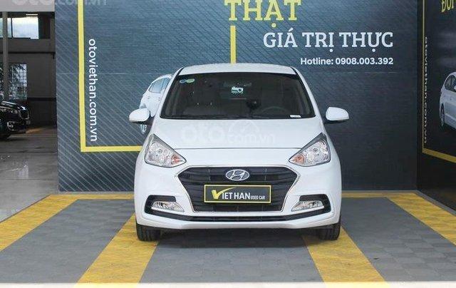 Cần bán Hyundai i10 1.2MT 2019 màu trắng mới đi 8.000 km, giá 388 triệu0