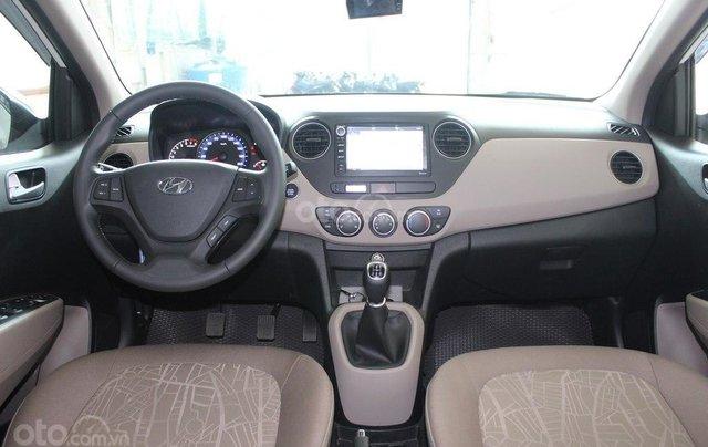 Cần bán Hyundai i10 1.2MT 2019 màu trắng mới đi 8.000 km, giá 388 triệu6