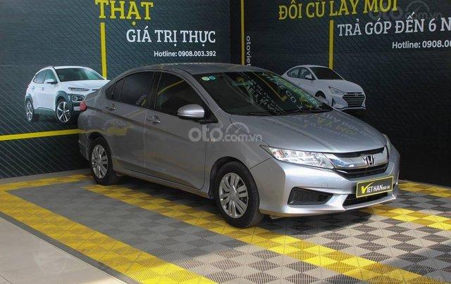 Bán xe Honda City năm sản xuất 2017, màu bạc, giá 446 triệu1