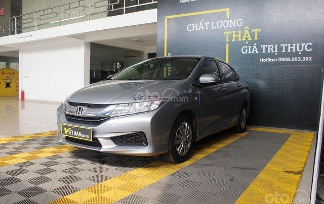 Bán xe Honda City năm sản xuất 2017, màu bạc, giá 446 triệu0