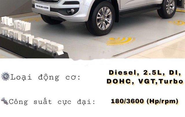 Bán Chevrolet Trailblazer 2018, màu bạc, nhập khẩu nguyên chiếc, giá tốt0
