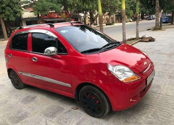 Bán xe cũ Chevrolet Spark đời 2012, màu đỏ0