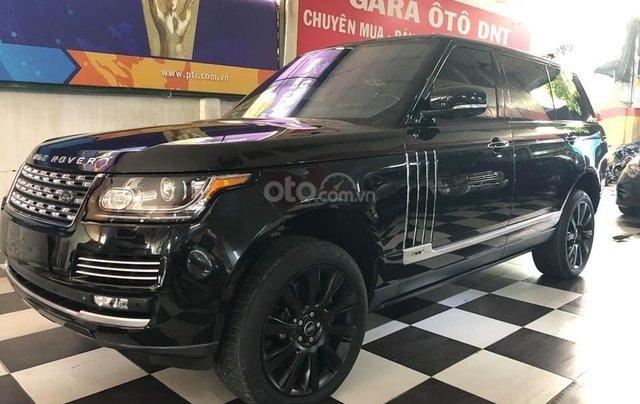 Bán xe LandRover Ranger Rover đời 2014, màu đen, xe nhập2