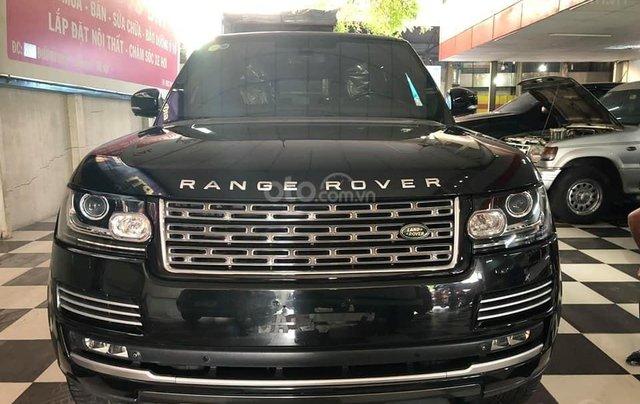 Bán xe LandRover Ranger Rover đời 2014, màu đen, xe nhập0