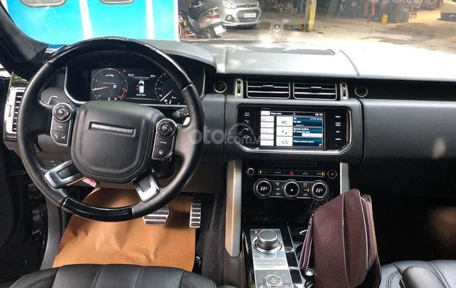 Bán xe LandRover Ranger Rover đời 2014, màu đen, xe nhập3