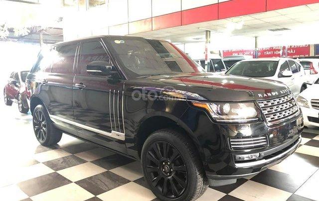 Bán xe LandRover Ranger Rover đời 2014, màu đen, xe nhập8