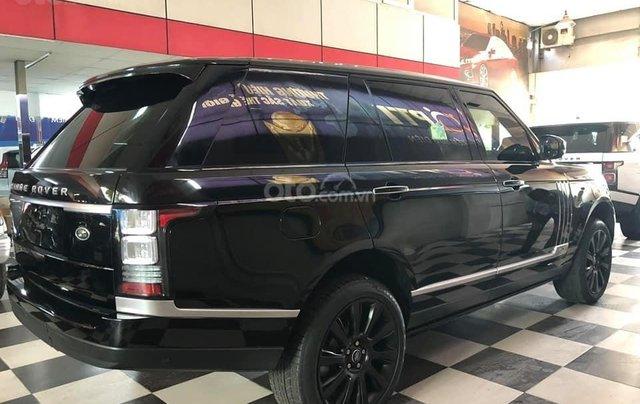 Bán xe LandRover Ranger Rover đời 2014, màu đen, xe nhập1