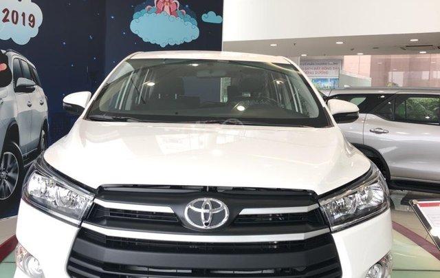 Bán xe Toyota Innova E sản xuất năm 2019, màu trắng, hỗ trợ vay ngân hàng – 0903070070 - Toyota Bến Thành1
