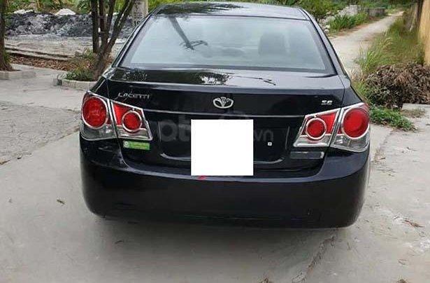 Bán xe Daewoo Lacetti sản xuất năm 2009, màu đen, nhập khẩu nguyên chiếc chính hãng1
