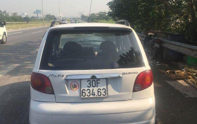 Cần bán gấp Daewoo Matiz đời 2005, màu trắng xe nguyên bản1