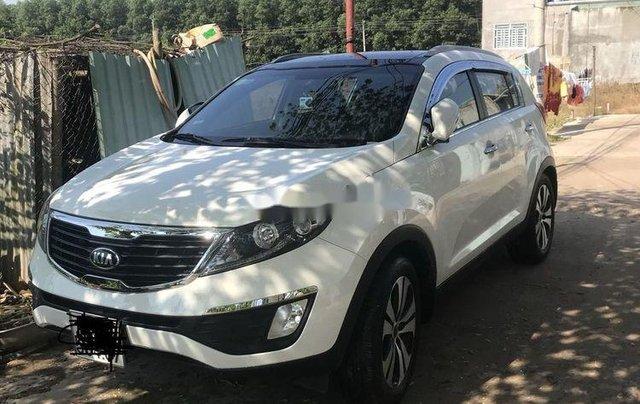 Bán ô tô Kia Sportage sản xuất năm 2013, màu trắng, nhập khẩu0