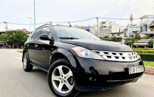 Cần bán xe Nissan Murano đời 2008, màu đen, xe nhập1