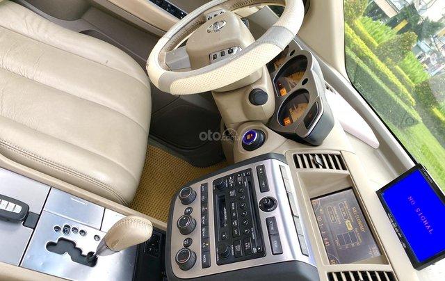 Cần bán xe Nissan Murano đời 2008, màu đen, xe nhập11