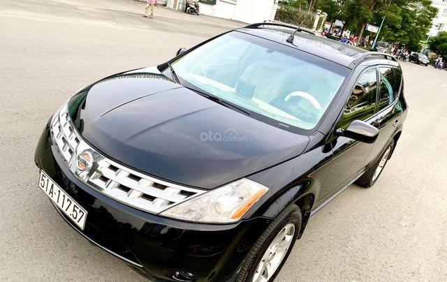 Cần bán xe Nissan Murano đời 2008, màu đen, xe nhập13
