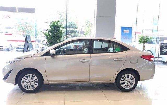 515 triệu, có ngay chiếc Toyota Vios 1.5E CVT sản xuất 2019, màu bạc3