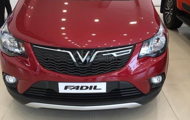 Bán xe Vinfast Fadil sản xuất năm 2019, màu đỏ, có sẵn giao ngay0