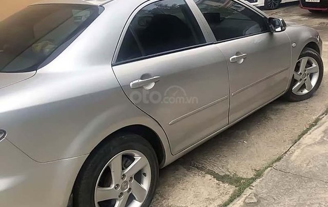 Bán Mazda 6 sản xuất năm 2004, màu bạc còn mới1
