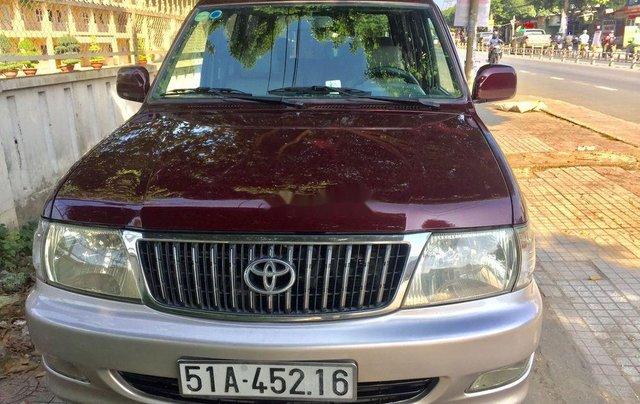 Bán Toyota Zace sản xuất 2004, màu đỏ còn mới0