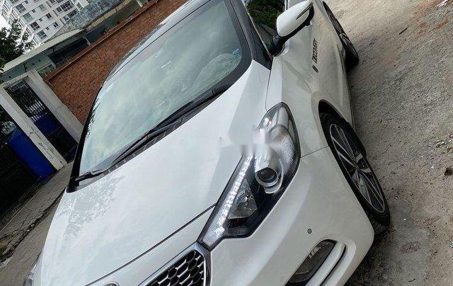 Cần bán lại xe Kia K3 sản xuất 2016, màu trắng còn mới1