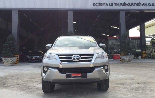 Cần bán gấp Toyota Fortuner năm sản xuất 2019, màu bạc, nhập khẩu nguyên chiếc 11