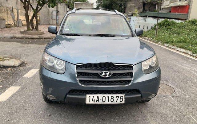 Bán xe Hyundai Santa Fe 2007, màu xanh lam, nhập khẩu chính hãng0