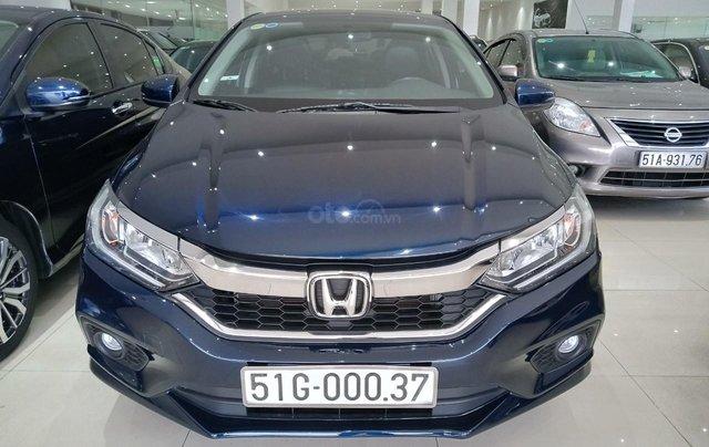 Bán Honda City 2017 form mới, màu xanh dương, biển Tp HCM giá rẻ1