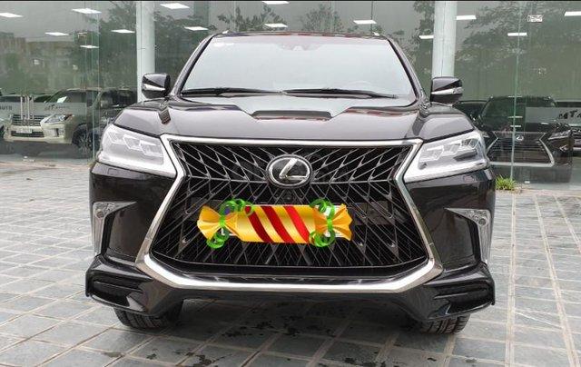 Bán ô tô Lexus LX 570s Super Sport Sx 2018 đăng kí 2019, màu đen tên công ty XHĐ cao. LH: 0905098888 - 0982.84.28380