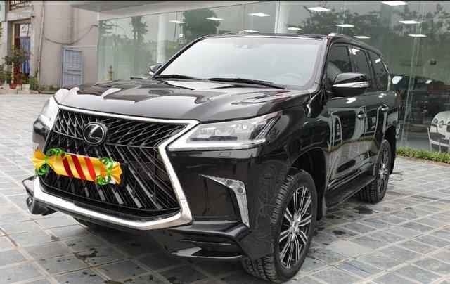 Bán ô tô Lexus LX 570s Super Sport Sx 2018 đăng kí 2019, màu đen tên công ty XHĐ cao. LH: 0905098888 - 0982.84.28382