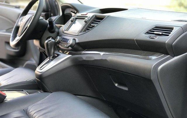 Bán Honda CR V 2.4 AT đời 2013, màu xám, biển TP7