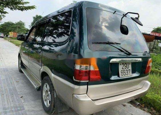Cần bán Toyota Zace đời 2004, màu xanh lục còn mới, giá tốt4