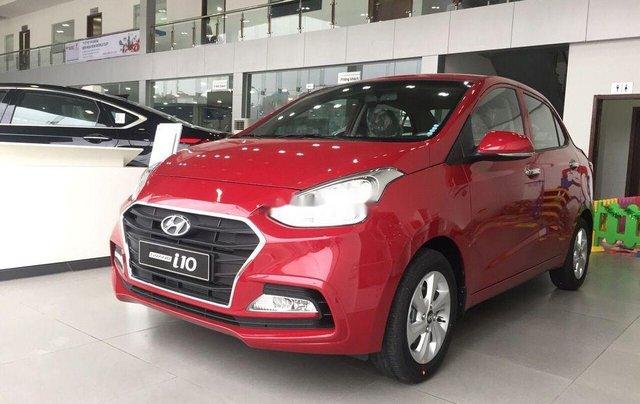 Bán Hyundai Grand i10 sản xuất 2019, màu đỏ, ưu đãi hấp dẫn0